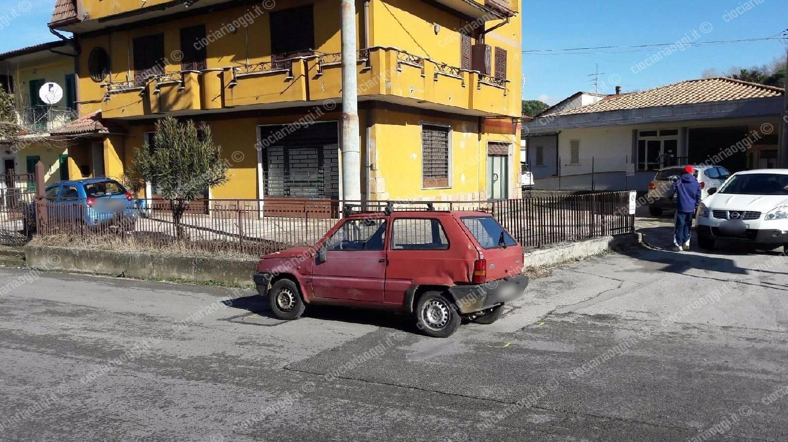 grave una donna investita in via per frosinone: corsa disperata a ... - Centro Arredo Bagno Ceccano