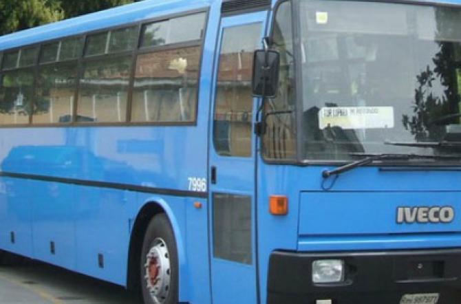 Latina: guidava l'autobus del Cotral ubriaco, la polizia gli ritira la patente
