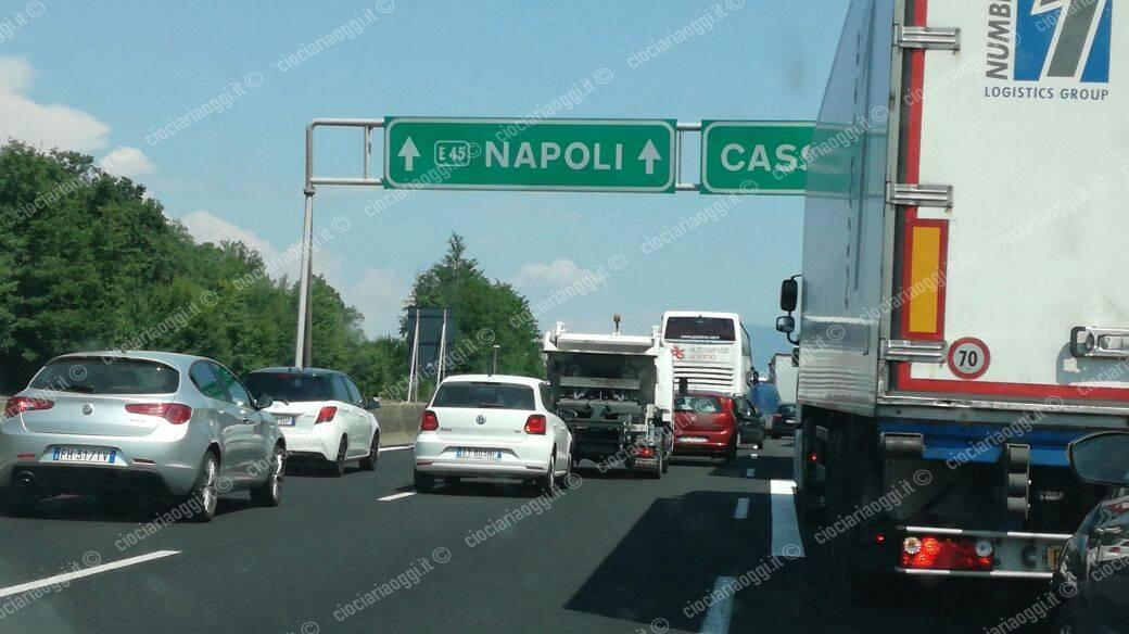 Incidente mortale su A1, chilometri coda