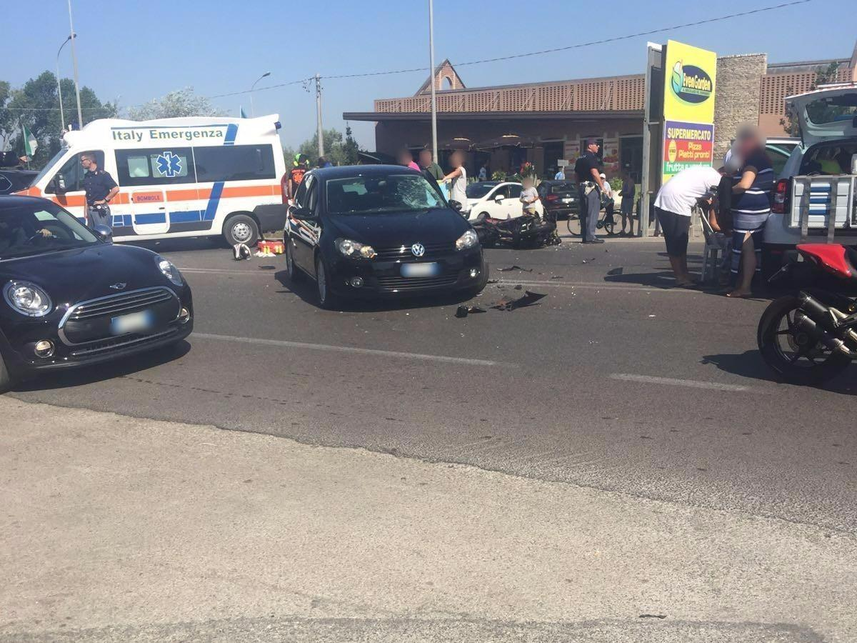 Terracina. Incidente mortale sulla pontina
