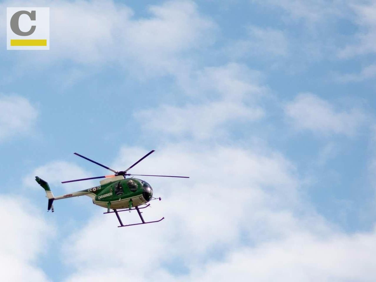 Un Elicottero : Scomparsa vincenzo frasca in azione pure un elicottero attesi