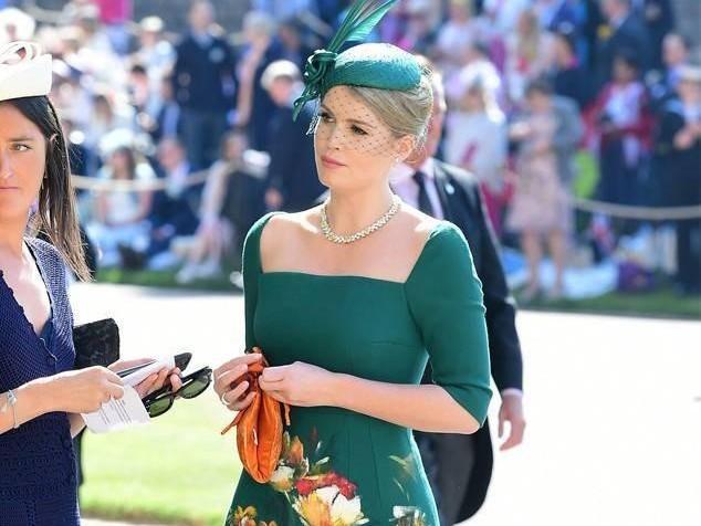 Matrimonio In Inghilterra : Kitty spencer la nipote di lady diana incanta al matrimonio reale