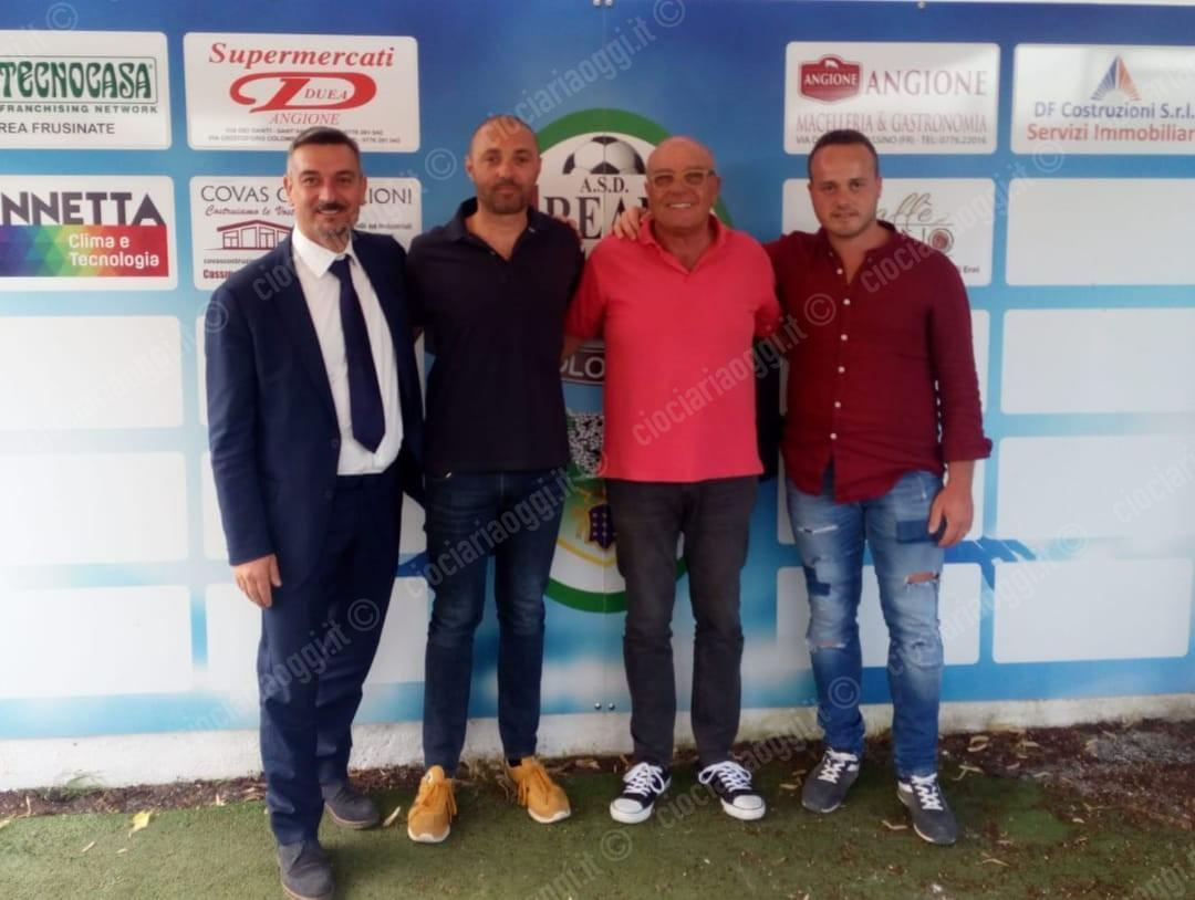 Fabio Gerli riparte dalla panchina del Real Cassino Colosseo