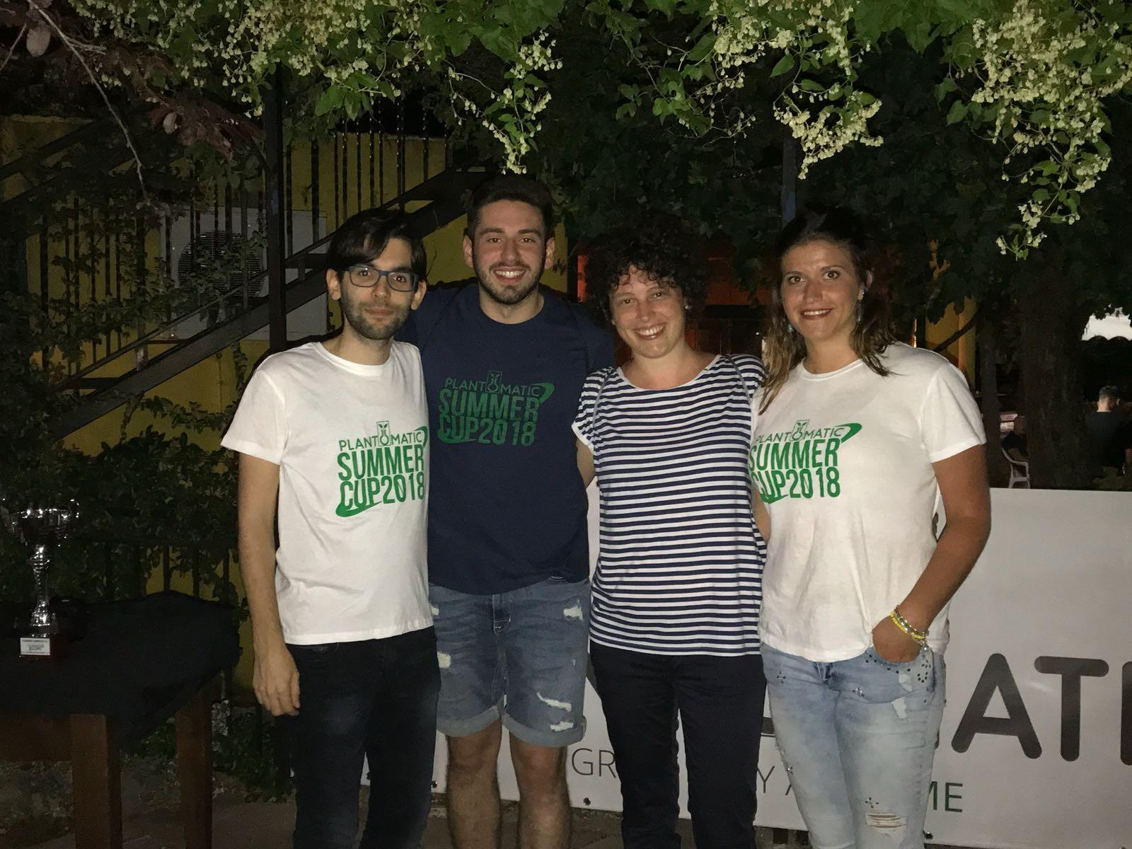 Plantomatic Summer Cup e 4° Memorial Mario Fanfarillo: un successo