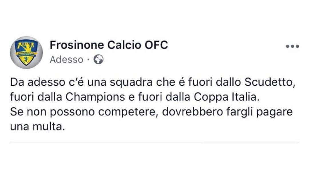 De Laurentiis, la vendetta dei tifosi del Frosinone: