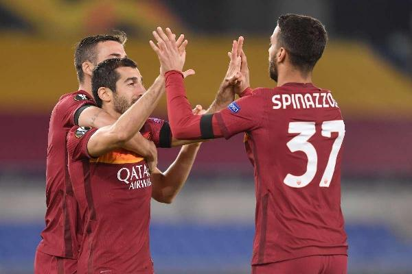 Roma facile in Europa League, travolto il Cluj 5-0