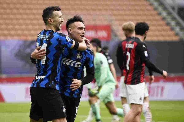 Derby all'Inter, Milan sconfitto 3-0 e ora a -4