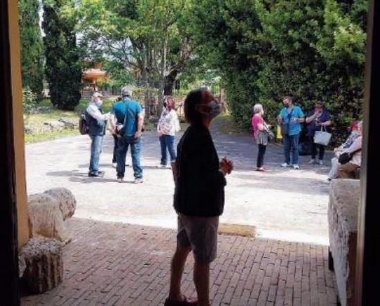 I turisti sono tornati ad Aquino: si riparte