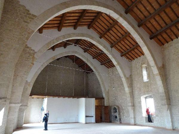 Un salone di Palazzo Gottifredo