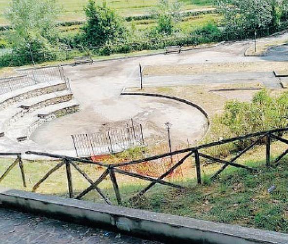 L'anfiteatro ospiterà gli spettacoli proposti ai cepranesi dall'amministrazione comunale