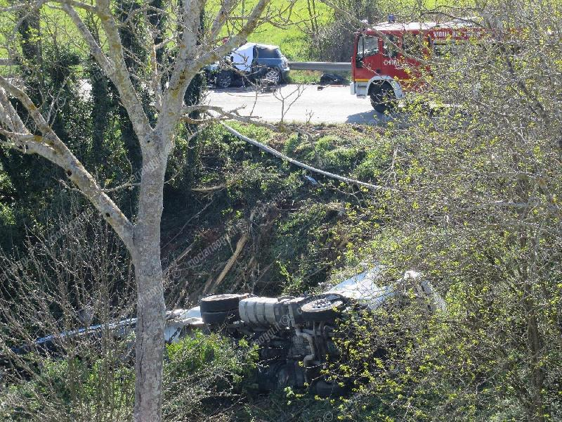 Incidente sulla Cassino - Formia