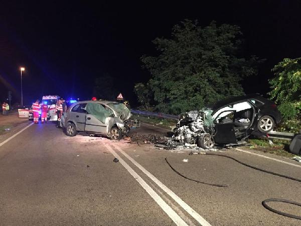 La raccapricciante scena dell'incidente mortale