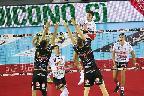 Volley Superlega - Sora si arrende in tre set al Civitanova, la classifica non cambia