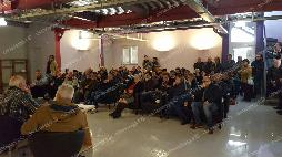 La platea presente all'incontro