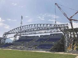 Stadio Benito Stirpe: work in progress... le immagini in un video esclusivo