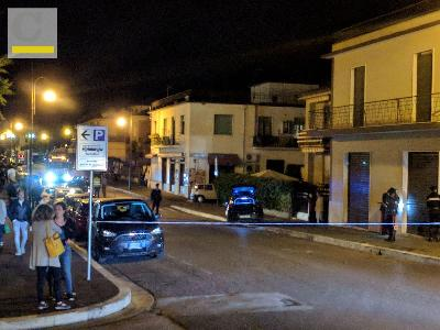 la zona teatro dell'incidente