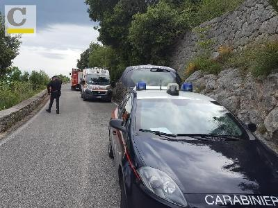 I soccorsi sul luogo dell'incidente
